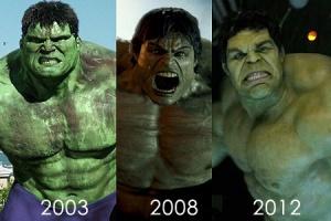 1 Hulk, 2 Hulk, Grey Hulk, Green Hulk